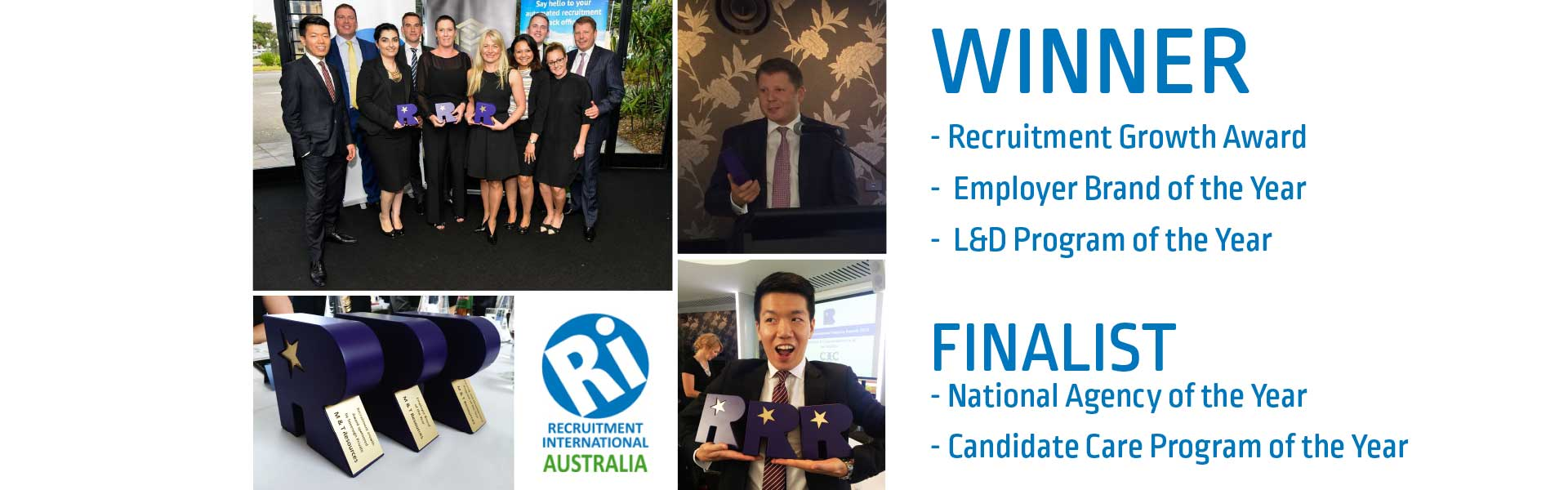 M&T Resources wins the most number of Recruitment International Awards 2014