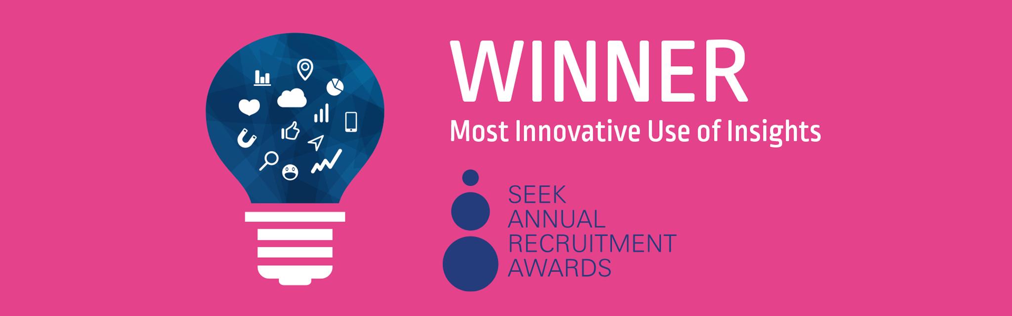 M&T Resources wins SEEK innovation award 2014