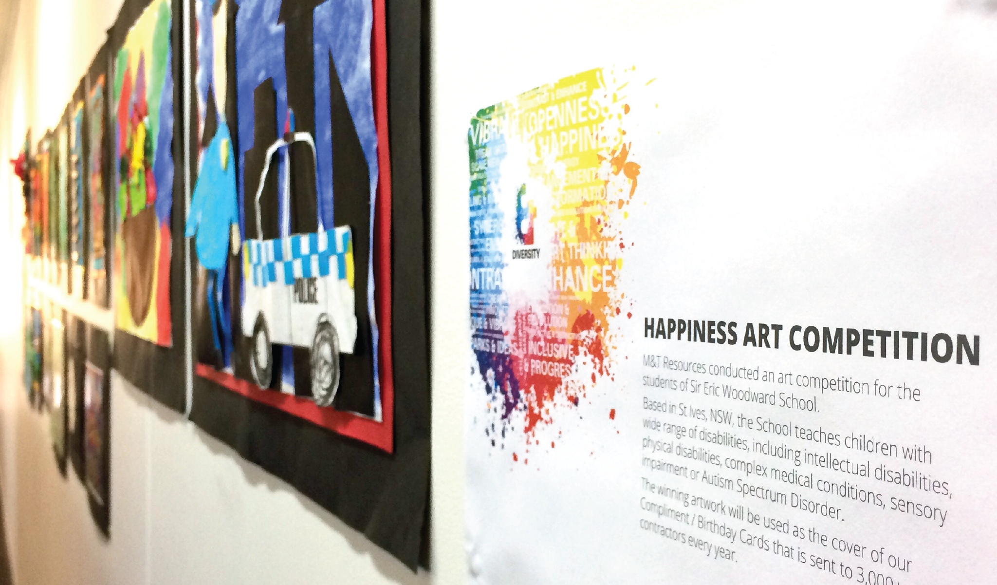 "How we're delivering ""Happiness"" through art"