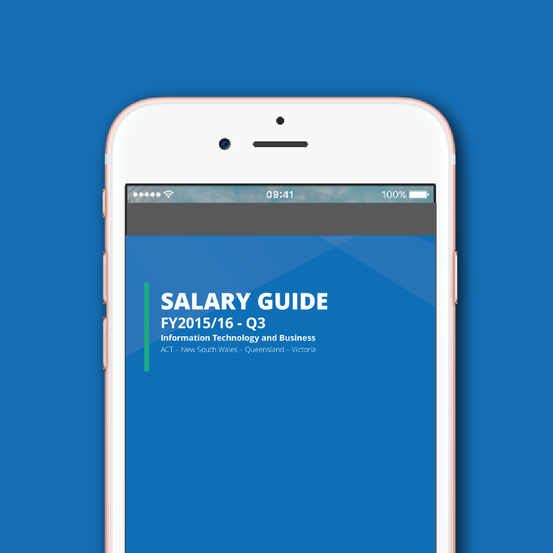 Salary Guide for Technology and Business – V2 2016