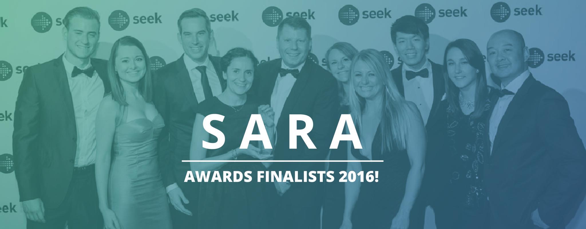 Finalists in SEEK Annual Recruitment Awards 2016