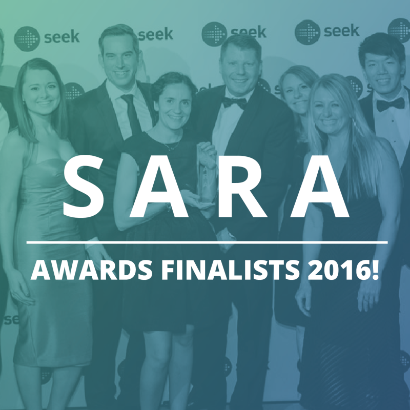 Finalists in SEEK Annual Recruitment Awards 2016