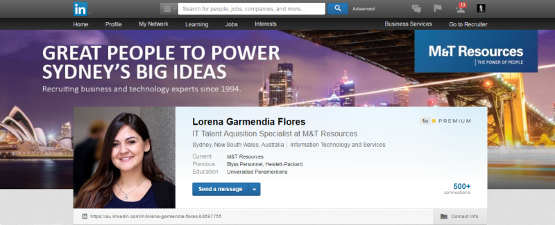 IT Recruitment, LinkedIn, Recruiter, Skills, Recruiting, Lorena Garmendia