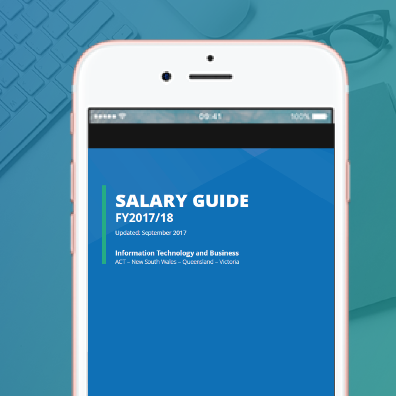 Salary Guide for Technology and Business – FY2017/18 – Q1