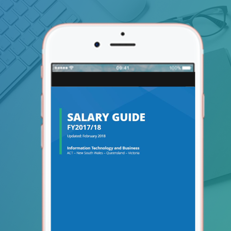 Salary Guide for Technology and Business 2018